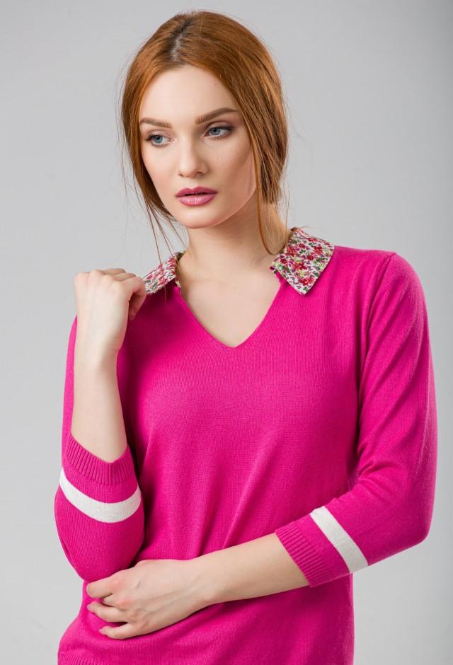 Bluza tricotata Flower
