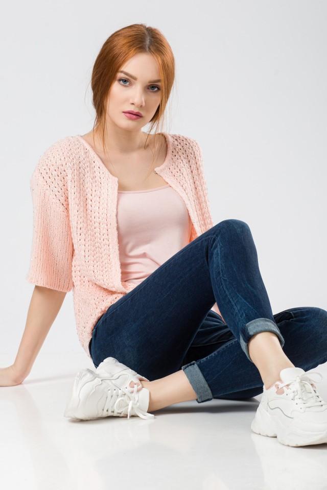 Jacheta tricotata Shine