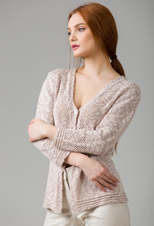 Jacheta tricotata Freya