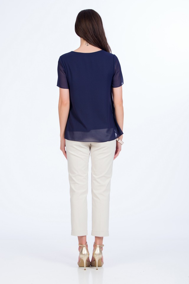 Bluza voal Navy Dream