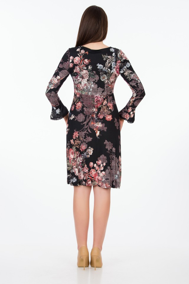 Rochie Printed Roses