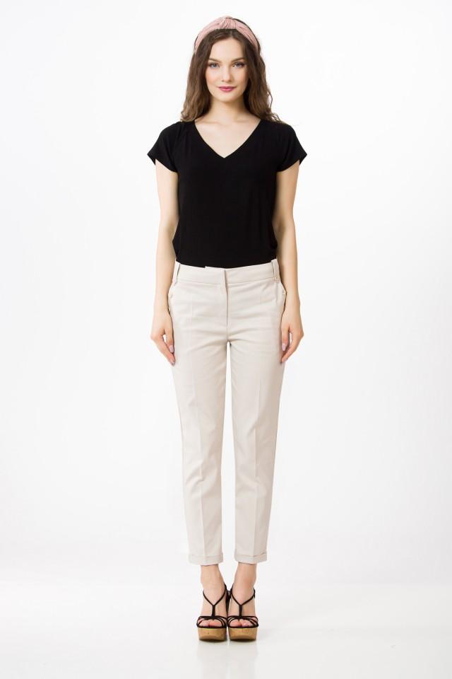 Pantaloni bumbac Caroline