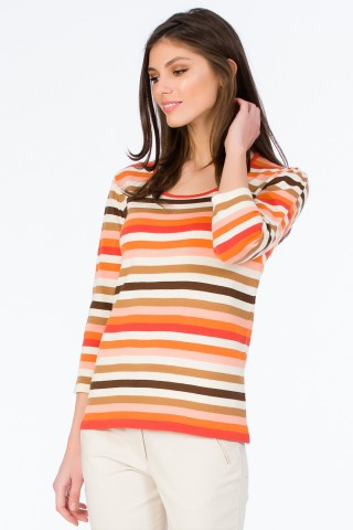 Bluza tricotata Rainbow Orange