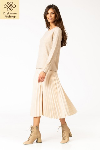 Pulover cu lana si casmir Odette