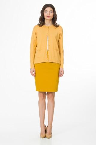 Jacheta tricotata Macaron