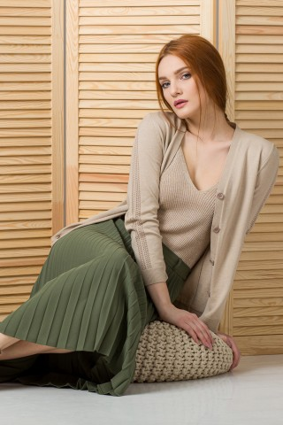 Jacheta tricotata Folie