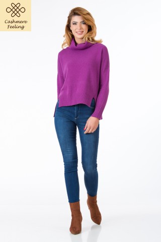 Pulover lana si casmir Odette