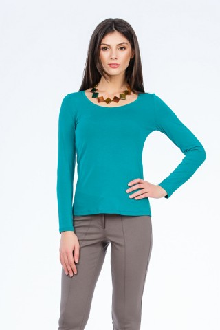Bluza tricot Holly Verde