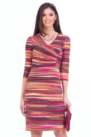 Rochie Sunset Maro+orange