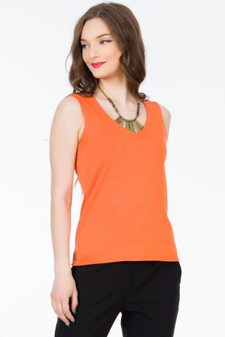 Top Tania Orange