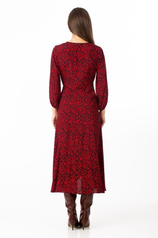 Rochie imprimata Red
