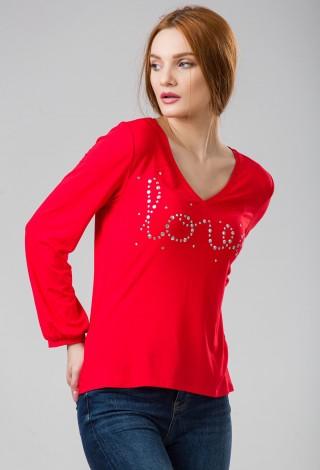 Bluza jersey Love