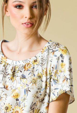 Bluza imprimata Fiorentine