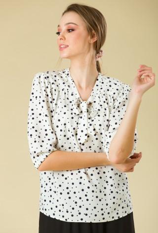 Bluza vascoza Dots