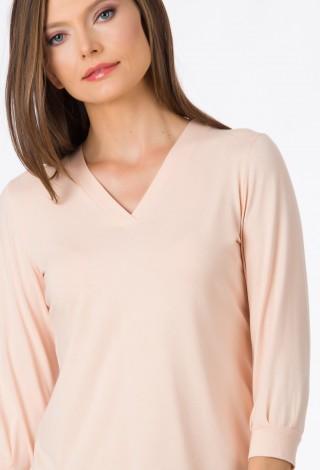 Bluza jersey Cream