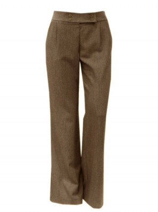 Pantalon office OL0278 Cafeniu