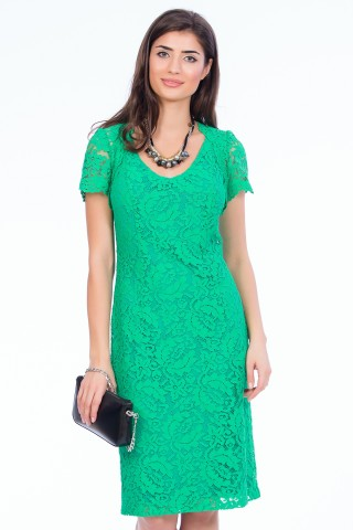 Rochie Pretty in Green Verde