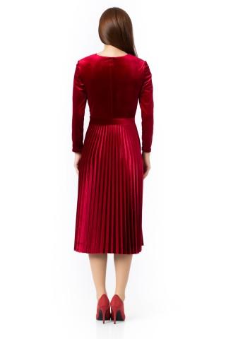 Rochie catifea Red Velvet